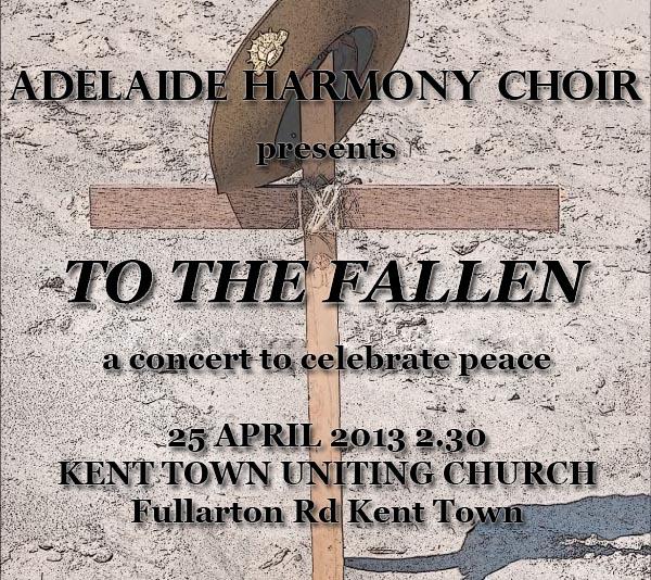Adelaide Harmony Choir presents